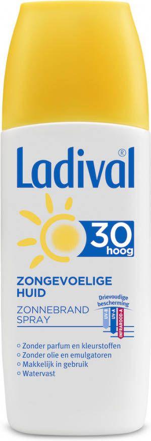 Ladival Zonnebrand Spray SPF30 online kopen