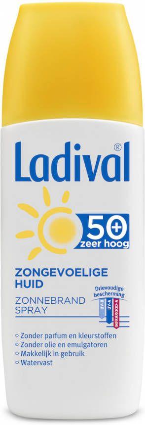 Ladival Zonnebrand Spray SPF50 online kopen