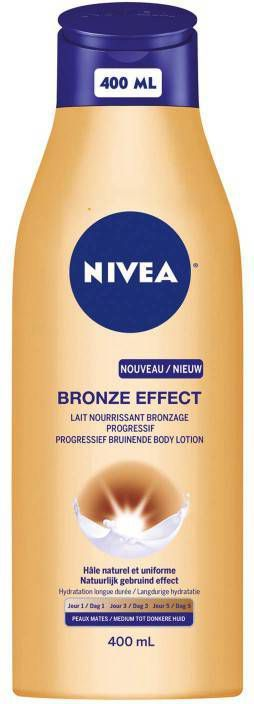 Nivea Bronze Effect Dark bruinende body lotion online kopen
